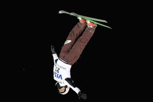 田原直哉3位、4季ぶり表彰台 スキーW杯エアリアル
