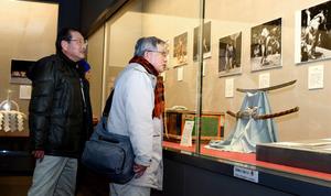 東京)北の湖ゆかりの品々、19日まで相撲博物館で展示