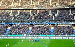 現場スタジアムでテロ後、初試合 「フランスが一つに」