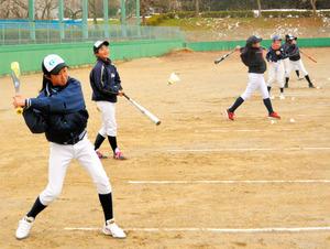 岐阜)県内初の女子硬式野球部が発足 岐阜第一高