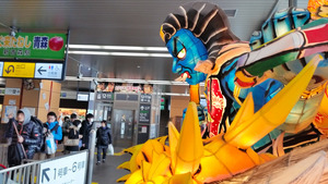 北海道新幹線とつながるのは来月。駅の風景はどう変わるか=青森市のJR新青森駅