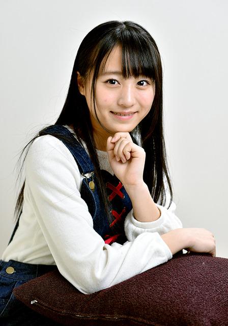 15歳。北海道出身。モデルを目指す=工藤隆太郎撮影