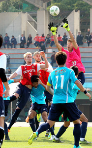 J1名古屋、練習試合で黒星 監督、守備のほころび嘆く