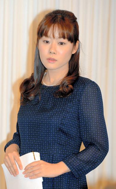Haruko Obokata at a news conference in April 2014 (Asahi Shimbun file photo)◇小保方晴子・元理化学研究所研究員