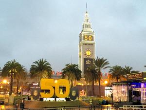 50回目のスーパーボウルの関連イベント会場だったサンフランシスコ市内
