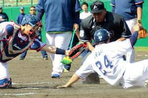 プロ野球、捕手悩ますブロック禁止 今年から新ルール