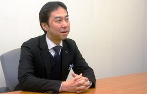 京王百貨店の人事担当統括マネージャーの田中正昭さん