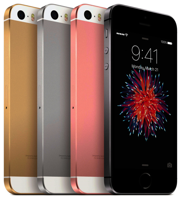 アップルが発表した「iPhoneSE」=アップル提供