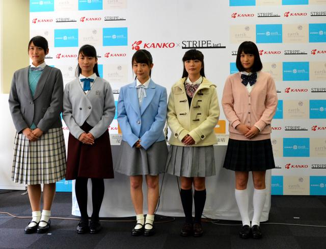【社会】フェミニン、ナチュラル、アートをテーマに 学生服、パステル色で女性らしく カンコーなど開発へ ©2ch.net ->画像>9枚