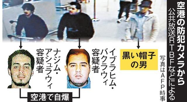 空港の防犯カメラから(写真はAFP時事)