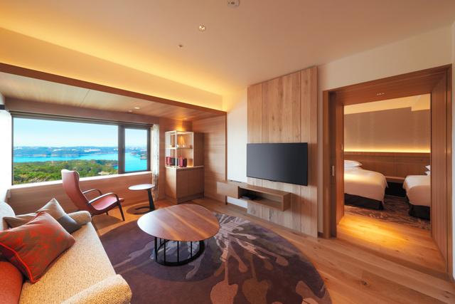 新設した「アンバサダースイート」=志摩観光ホテル提供
