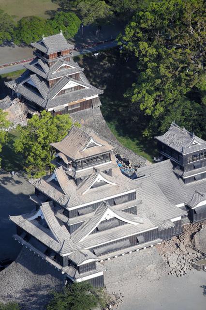 熊本城が倒壊まで秒読み段階wwwwwwwwwwwwww [無断転載禁止]©2ch.net ->画像>18枚