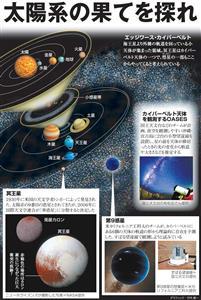 太陽系の果てを探れ<グラフィック・竹内修一>