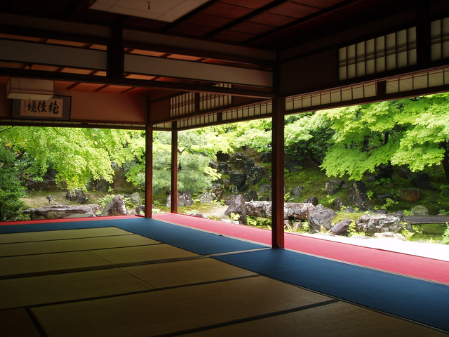 東山高台寺・円徳院=2006年5月、塩原直美撮影