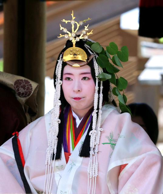 今年の斎王代を務める西村和香さん
