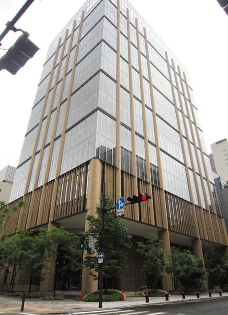 田辺三菱製薬本社2階の史料館は入館無料だが、ホームページからの予約が必要