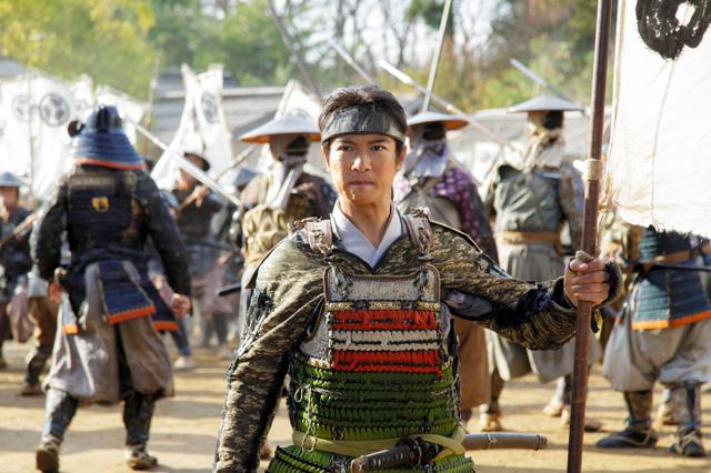 「真田丸」の主人公、真田信繁(堺雅人さん)=NHK提供