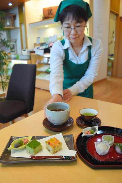 上品な狭山茶が味わえる「沢田園」=埼玉県入間市下藤沢
