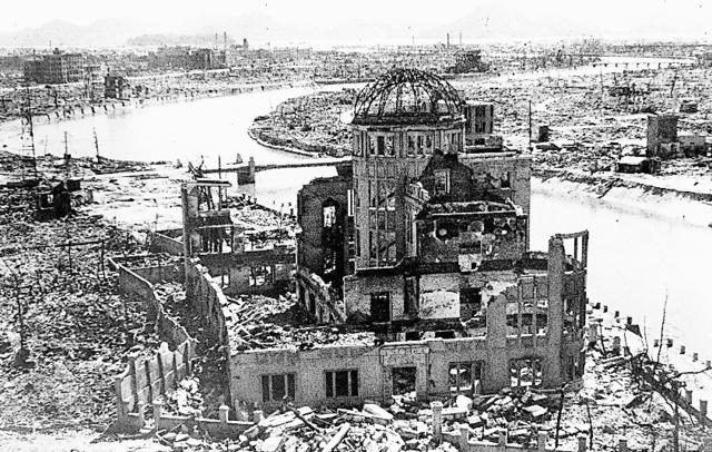 被爆直後の広島=1945年9月