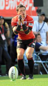 五郎丸、右肩手術へ 全治12週間で6月の代表戦欠場