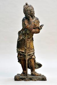 「木造十二神将立像 午神像」=重要文化財、静嘉堂文庫美術館蔵