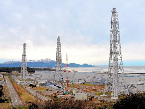今は全7基が停止している東京電力柏崎刈羽原子力発電所