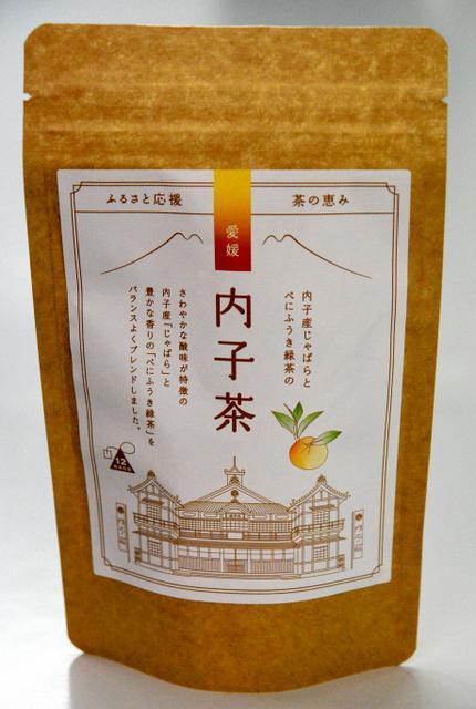 三井農林が愛媛県内子町と共同開発した「愛媛内子茶」