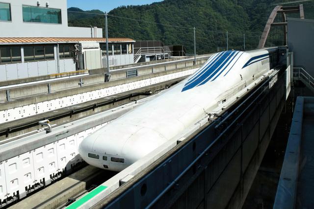 リニア中央新幹線の山梨リニア実験線