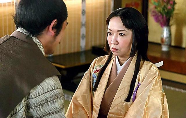 こんな仏頂面ですが、気持ちは大竹しのぶさんになってました=NHK提供