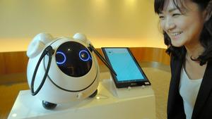 ロボット「オハナス」が接客します ドコモが新サービス