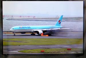 406便が欠航、7万人以上に影響 大韓機の出火事故