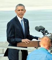 オバマ米大統領、広島を訪問 現職として初めて