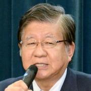 引退を正式表明した横路孝弘衆院議員=札幌市中央区