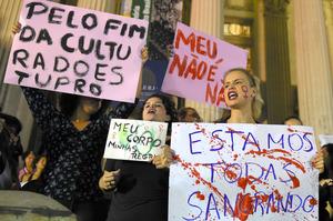 少女に性的暴行、30人以上で ネット投稿も ブラジル