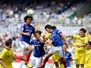 103試合連続フル出場、横浜マ・中沢が今季2点目