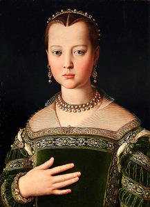 「マリア・ディ・コジモ1世・デ・メディチの肖像」=イタリア・ウフィツィ美術館(彫刻絵画美術館)蔵 (C)A. Quattrone