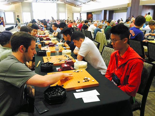 昨年8月に米ミネソタ州で開かれた「碁コングレス」=関西棋院提供