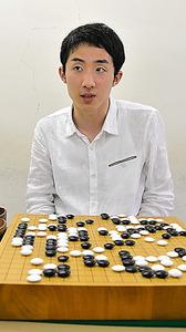初めて統合予選を勝ち抜いた富士田明彦五段