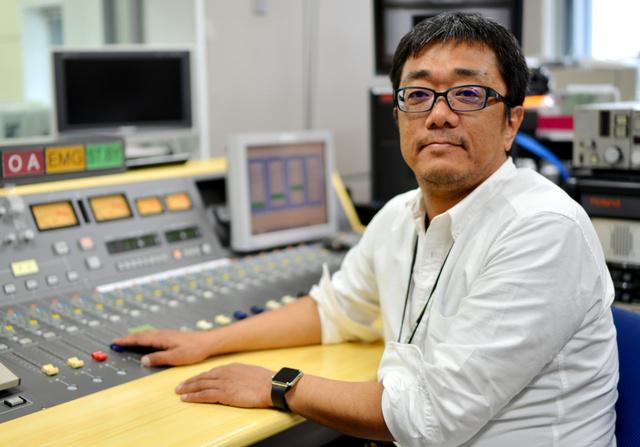 番組を担当したKBCの佐藤雅昭さん=福岡市中央区