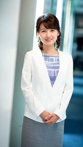 「NEWS ZERO」キャスターの小正裕佳子さん=東京都港区、遠崎智宏撮影
