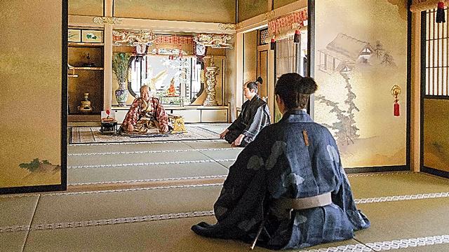 豊臣秀吉の居城「大坂城」の広間