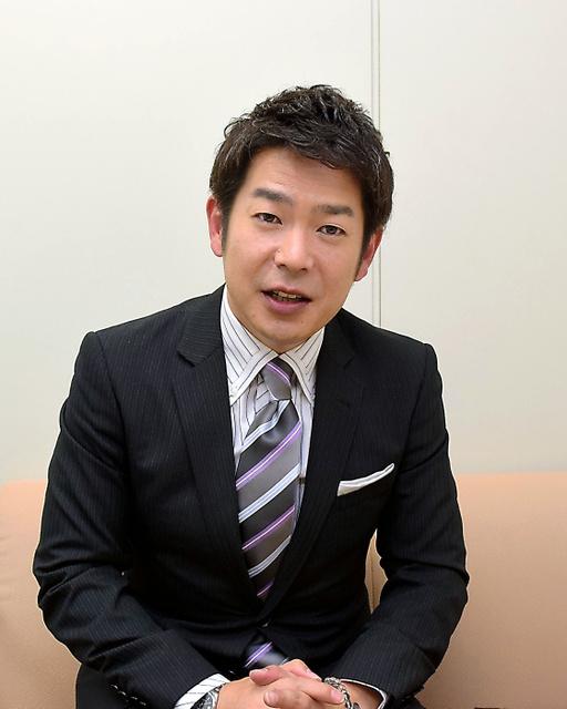 基金を設立した清水健さん=大阪市中央区