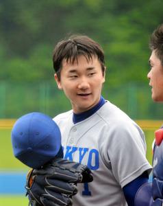 東大の宮台、先発の方針 主将は明大の柳 日米大学野球