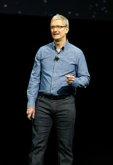 アップルのティム・クック最高経営責任者=AP