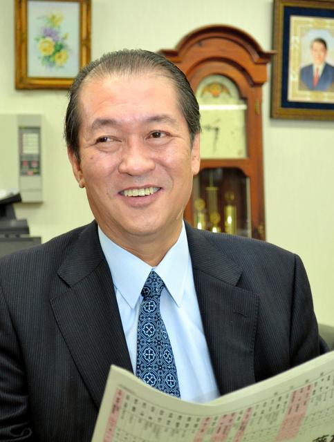 鳩山邦夫氏=2012年