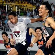 「第3の男」切り裂いた ケンブリッジ飛鳥100m制す