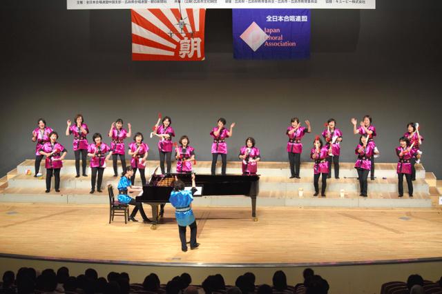 ひまわり賞を受賞した東広島市の「マミーシャンテ」=広島市中区