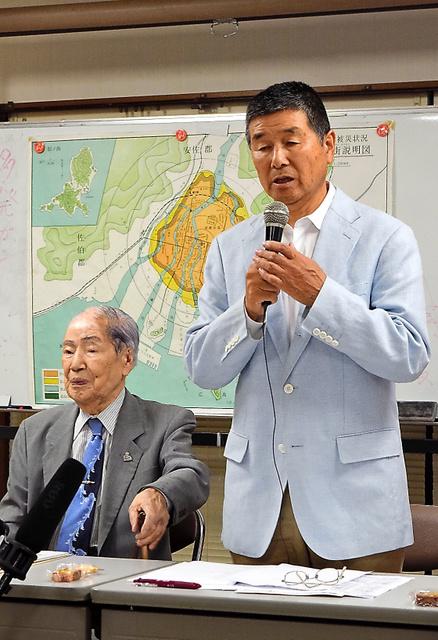 健康調査の結果が報告された県被団協被爆2世部会の総会=広島市中区
