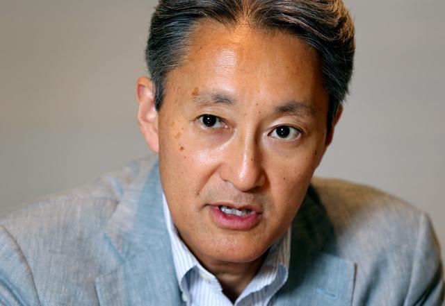 今後の経営方針などについて語るソニーの平井一夫社長=30日、東京都港区、池永牧子撮影