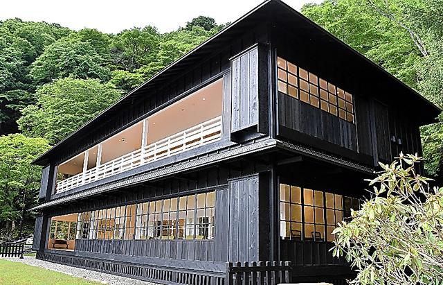 一般公開される旧英国大使館別荘=栃木県日光市、梶山天撮影